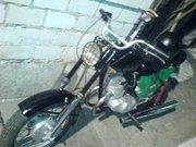 Продам кроссовый мотоцикл.  Рама пересваренная от Минского в идеале.Двигатель от Восхода. не исправный.