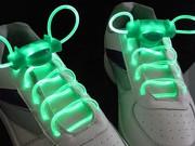 Светящиеся неоновые шнурки для обуви