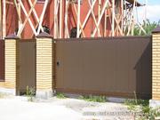 Акция!Ворота гаражные секционные.Канада. Роллеты от 38 евро/м.кв.