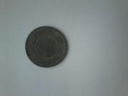 медная российская монета 3 копейки 1878 года