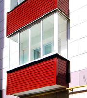 Обшивка балконов в Бобруйске