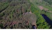 База отдыха в лесу у реки рядом с Бобруйском