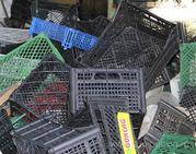 Закупаем дорого лом пластмассовых ящиков